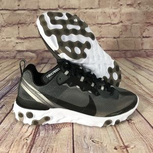 NIKE React Element 87 Black/White/Anthracite